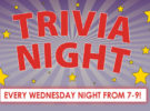 Trivia Night Every Wednesday